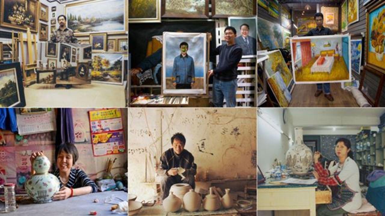 中国の贋作アーティストに自画像を発注してみたら…
