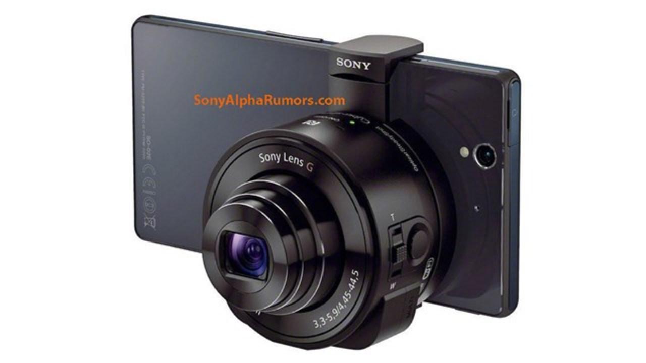 【噂】操作はスマホにおまかせなソニーのレンズカメラ「DSC-QX10」「DSC-QX100」