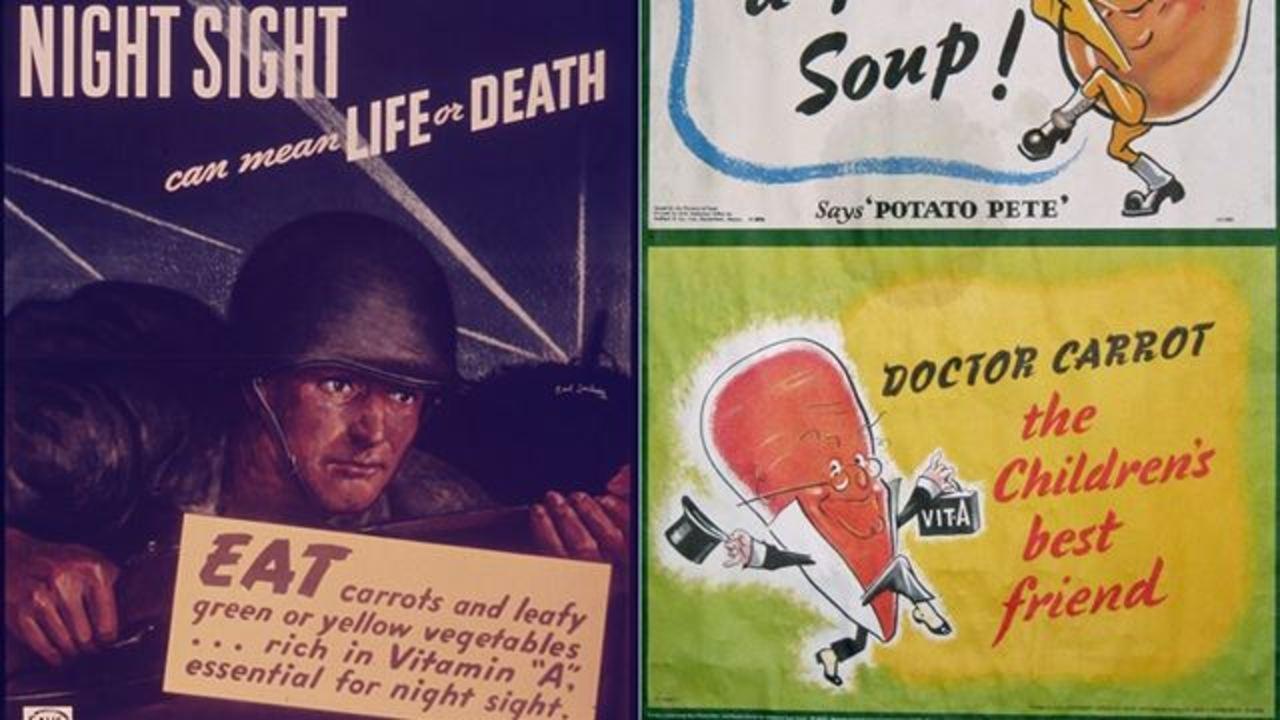 ナチスとレーダーと人参と。「人参を食べると目がよくなる」の意外な起源