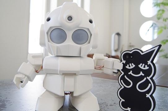 やっぱり萌え悶えた…。3Dプリンタで作るロボットRAPIROの開発者さんにお話を聞いたよ!(動画あり)