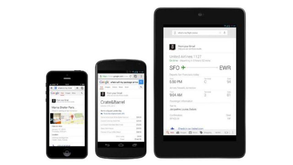 Google検索がもっとパーソナルアシスタント化。フライトや買い物やレストラン予約がどうなってるか教えてくれます。