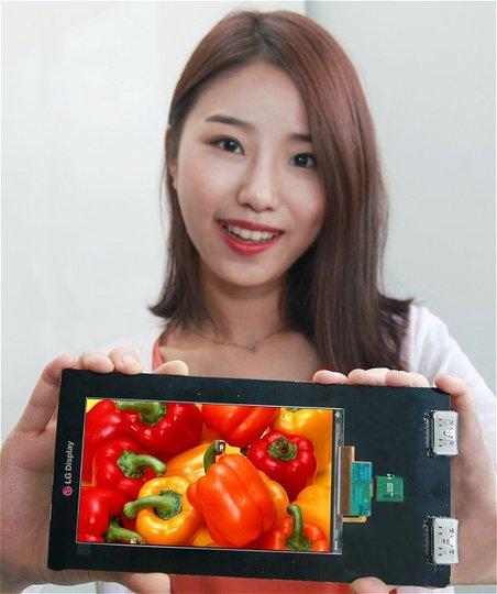 LGが世界初となる超高画質Quad HD LCDディスプレイを開発