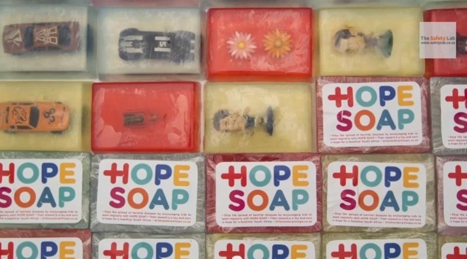 効果絶大アイディア! 子どもたちが自ら進んで手を洗うようになった石けん「Hope Soap」
