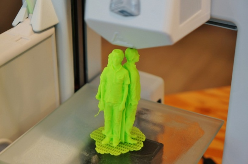 再現率高っ! 3Dプリンターのショールーム「CUBE」で、自分のフィギュアを作ってもらったよー!(追記あり)