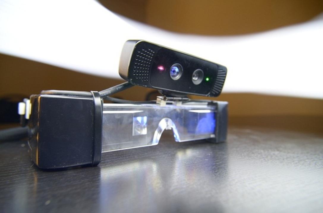 グーグルグラスより未来っぽい! ARスマートメガネSpaceGlasses(動画あり)