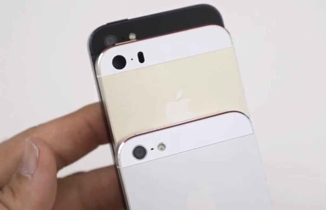 iPhone 5S、iPhone 5C、iPhone 5の比較動画が登場、発表前にチェックしよう!