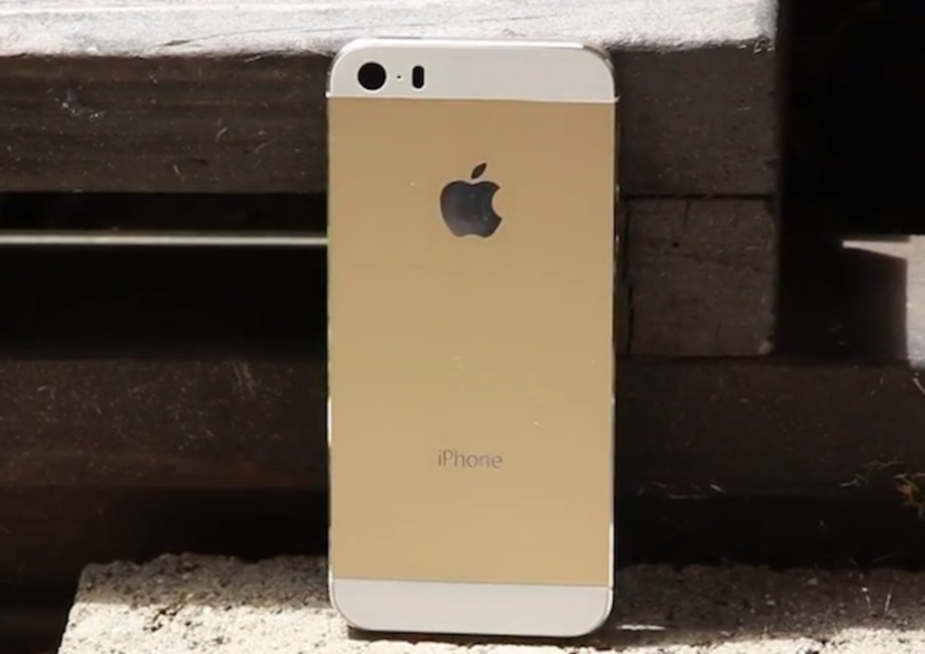 iPhone 5Sの超丁寧な外観動画が登場、新色のシャンパンゴールドに注目!