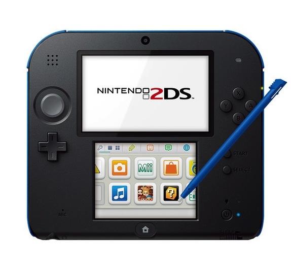 任天堂「ニンテンドー2DS」を欧米で発売へ!タブレット形状で3D機能ナシ!