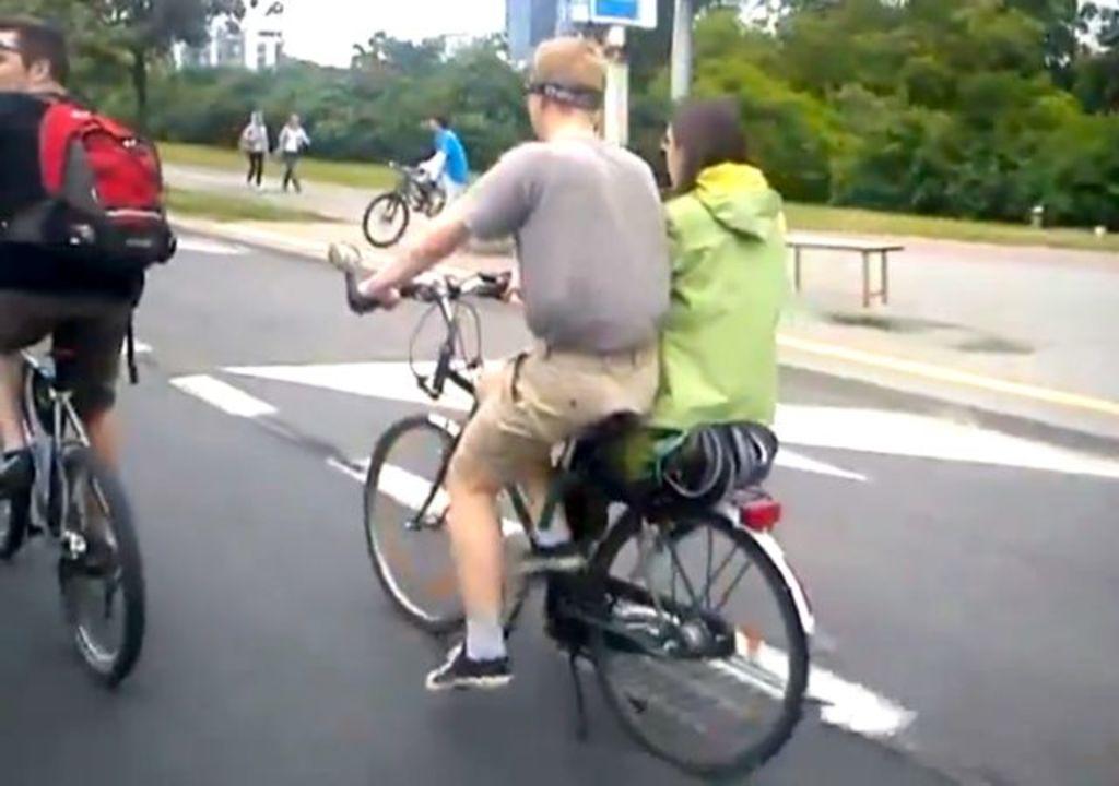 デートに最適。彼(彼女)と密着できる二人乗り自転車(動画あり)