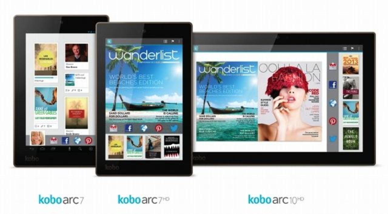 ダークホース登場の予感。KoboがハイスペックタブレットとE Inkリーダーを新たに4機種発表
