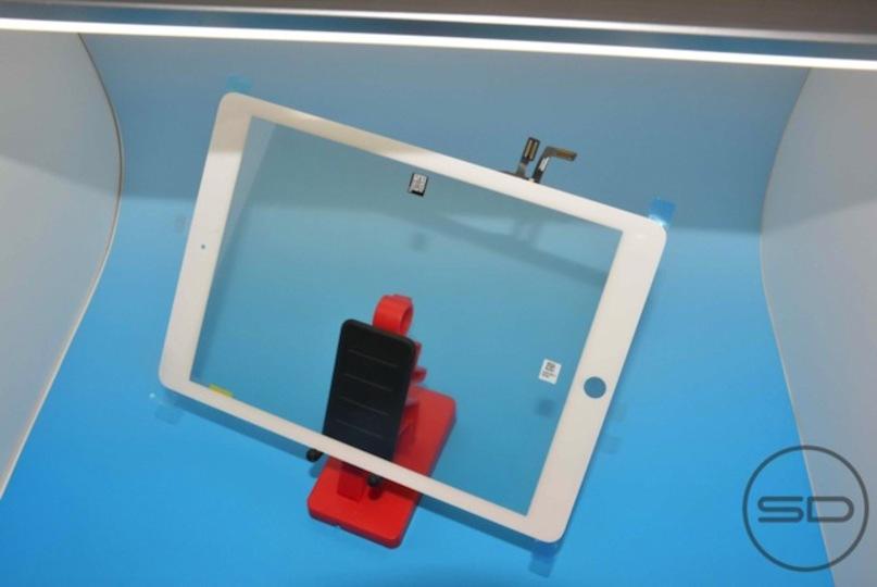 新型iPadはよりスリムに!フロントパネル画像が大量流出