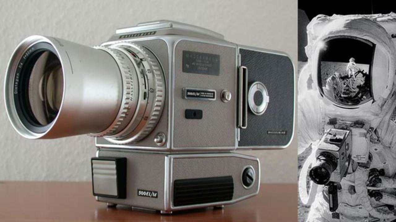 月面着陸アポロ11号計画のために作られたハッセルブラッドカメラが今オークションに!(残り約1時間)