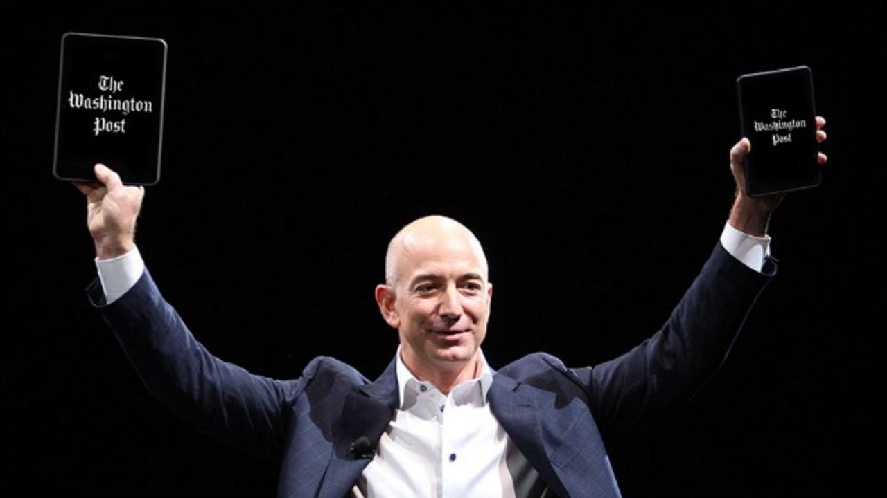 AmazonのCEO、ポケットマネーでワシントン・ポストを買収、今後のプランは?