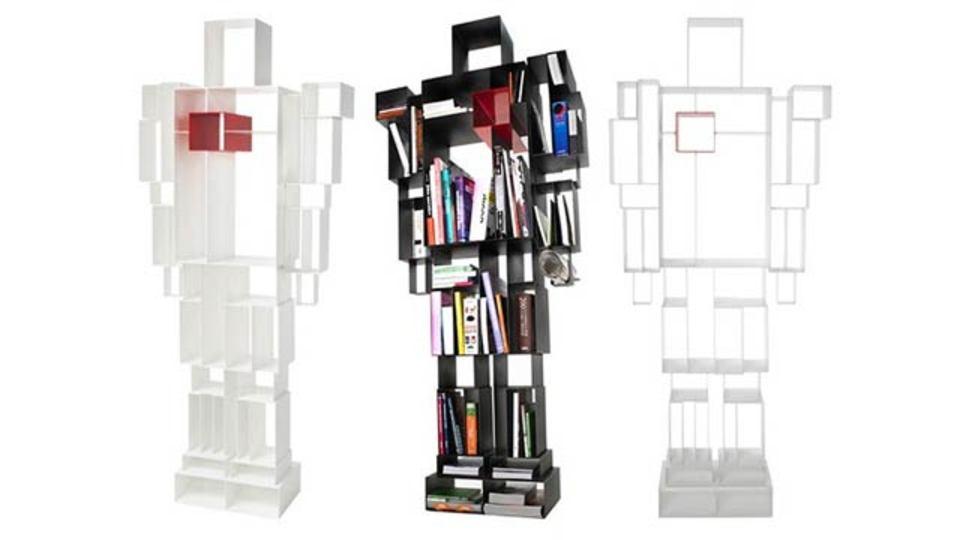 すっごくロボットで、すっごく本棚