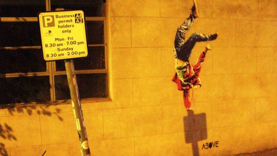 環境を活かした街と一体化するストリートアート、ABOVEの作品7選(動画あり)