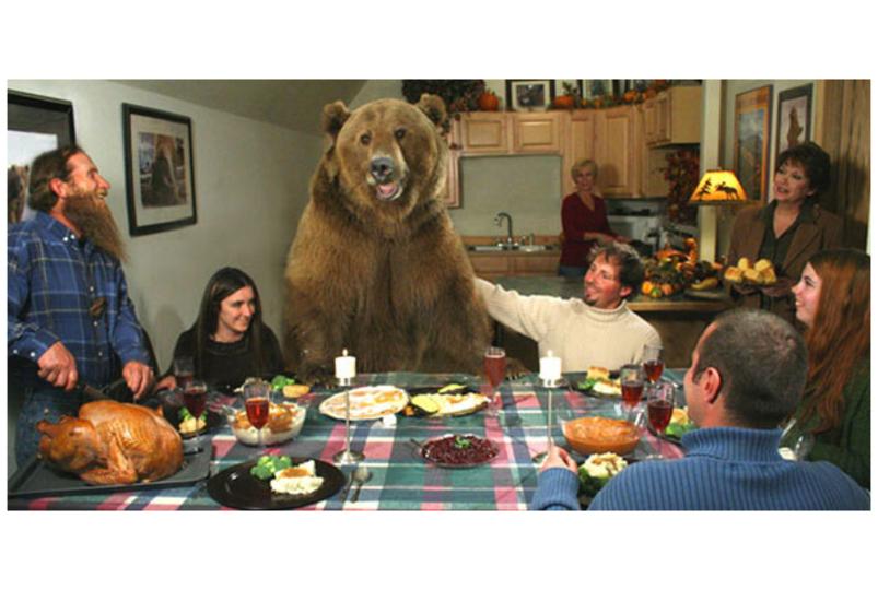 Photoshopじゃないよ! 拾った小熊を10年かけて育てた人がいた