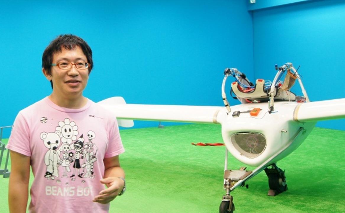 本当に飛べる! ナウシカのメーヴェを実際に作った八谷和彦さんにお会いしてきたよ!(動画あり)