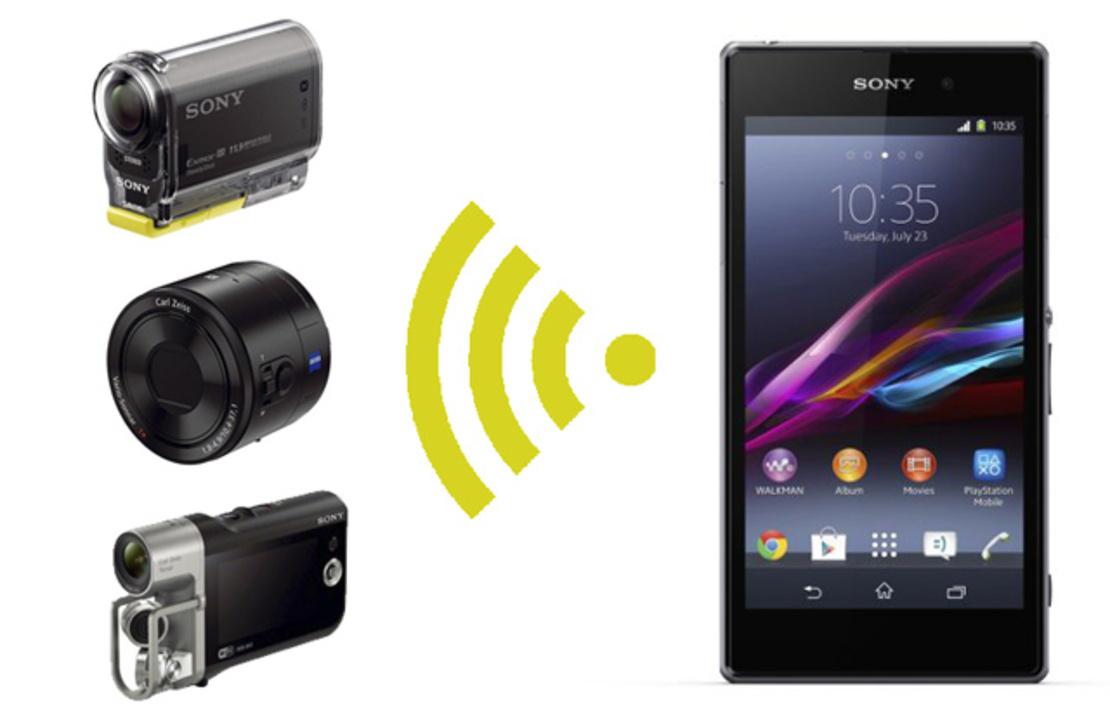 [ #IFA2013 ]HDR-AS30V、HDR-MV1、DSC-QX100のWi-FiコントロールAPIが公開