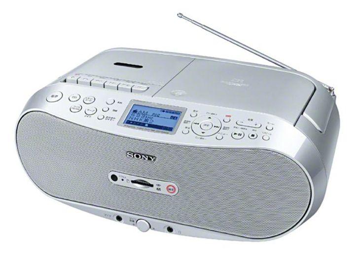 ソニーからカセットテープをメモリーカードに録音できるCDラジカセが発売に