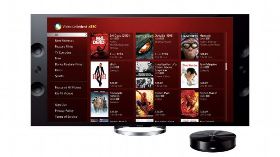 [ #IFA2013 ]ソニーの4Kコンテンツダウンロードサービス開始、まずは70タイトル