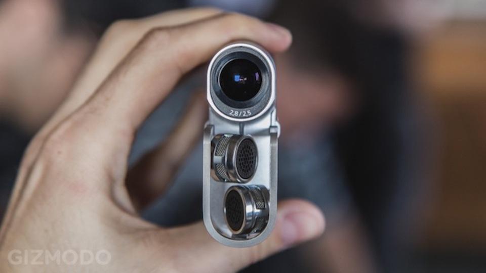 [ #IFA2013 ]ステレオマイクで臨場感がサイコー!なフルHDビデオカメラ「HDR-MV1」