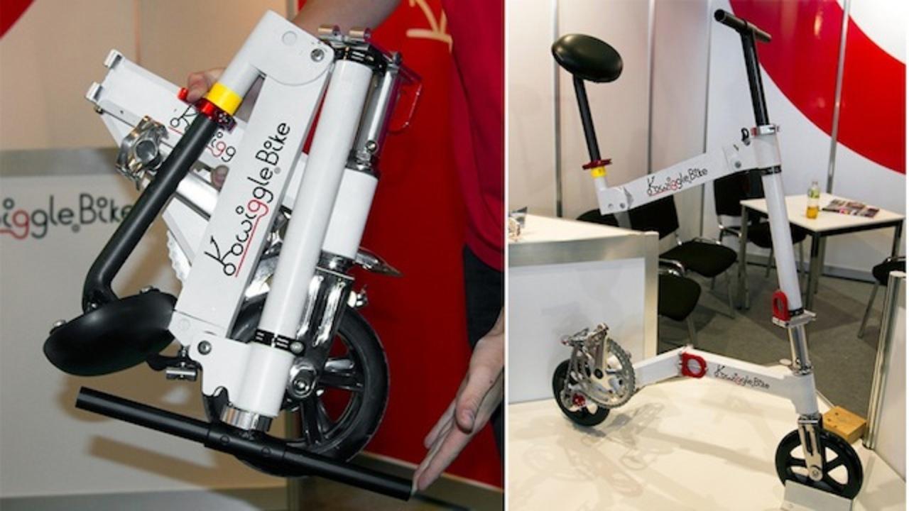 世界最小の折りたたみ自転車は、手荷物バッグに入れて持ち運べる時代へ