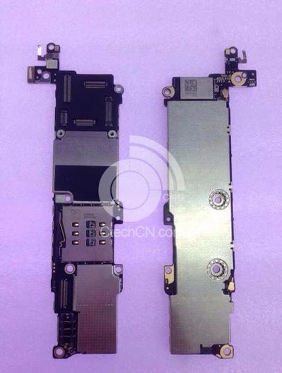 iPhone 5Cのメインボード画像が流出!?