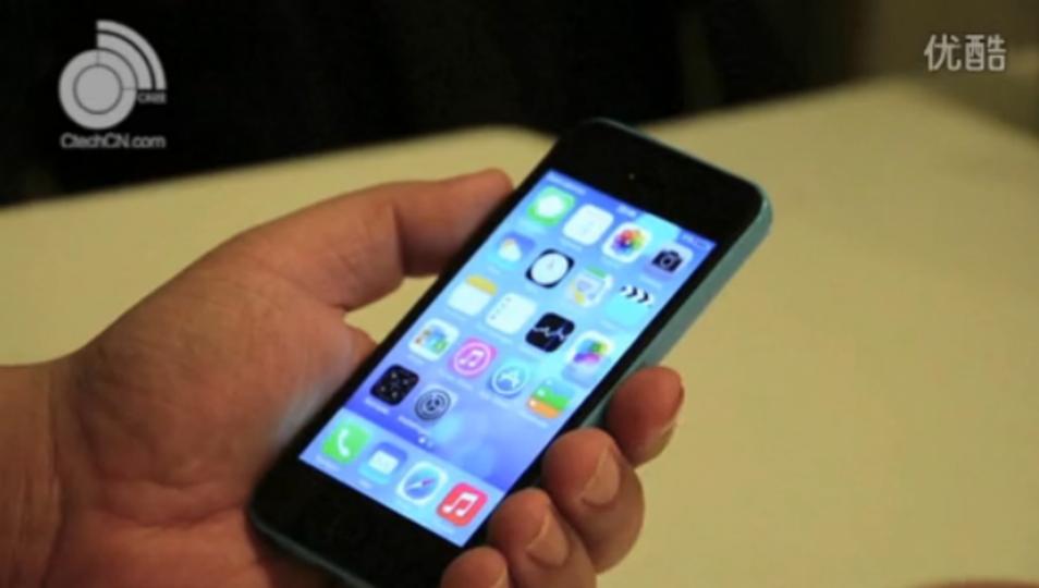 iPhone 5C ブルーモデルの高解像度な実機動画が流出(動画あり)