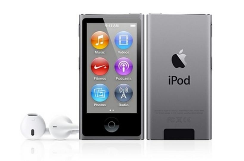 iPod touch・shuffle・nanoに新色スペースグレーが追加