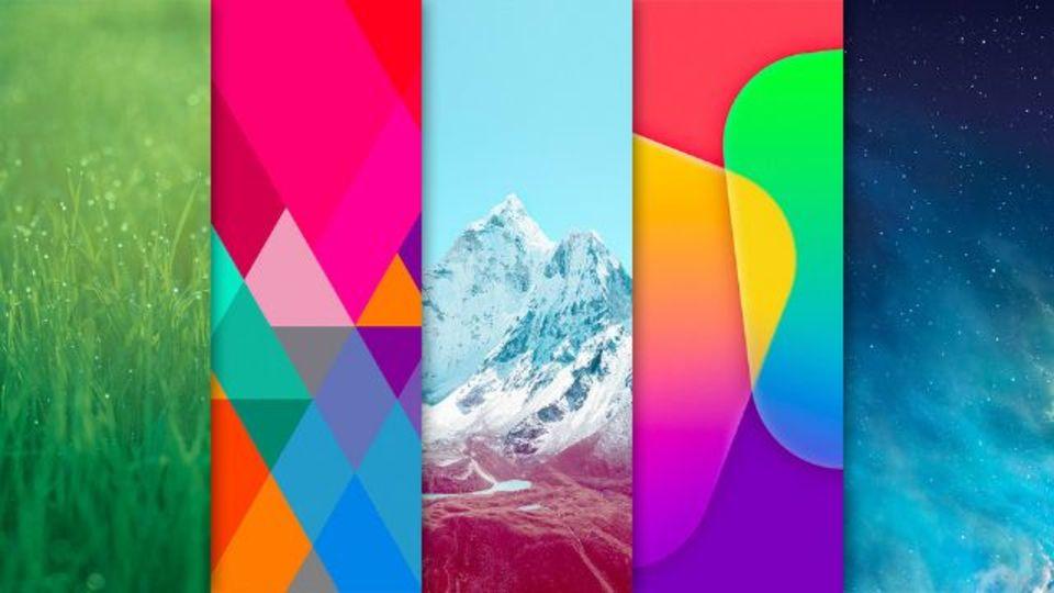 iOS 7の壁紙を先取り! はこちらで。
