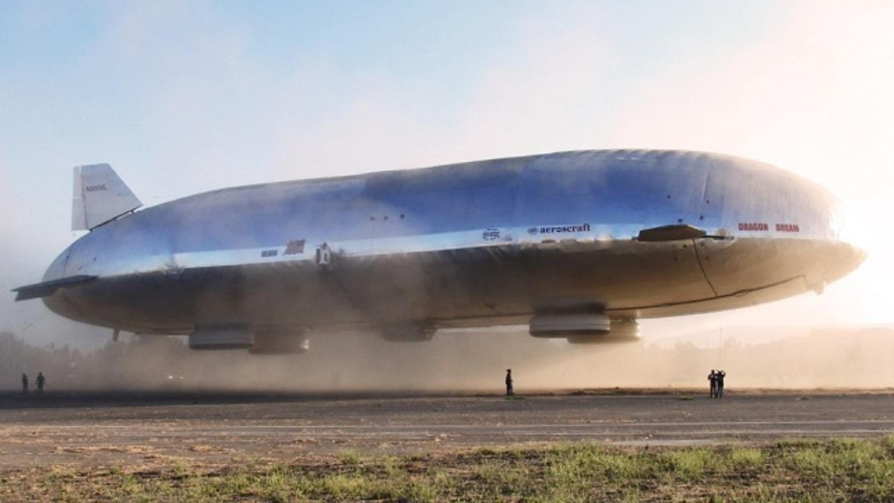 次世代飛行船「エアロスクラフト」、プロトタイプのテスト飛行が成功 ...