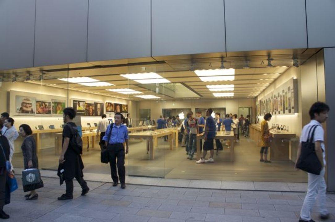 手に入れましたー! iPhone 5s/5c行列実況@アップルストア銀座(9月20日12:50更新)