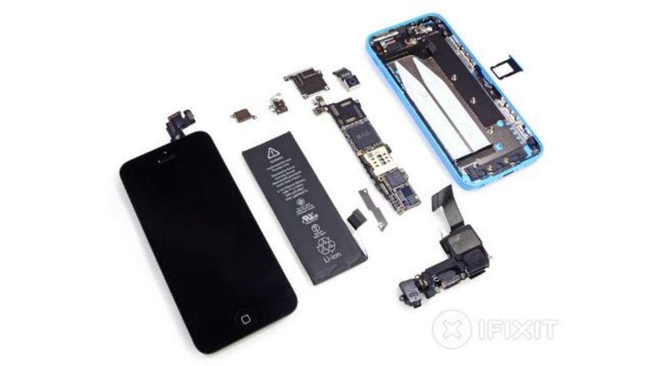 【 #iPhone5c】iPhone 5cも解体。iPhone 5・5sとどう違う?(動画追記)