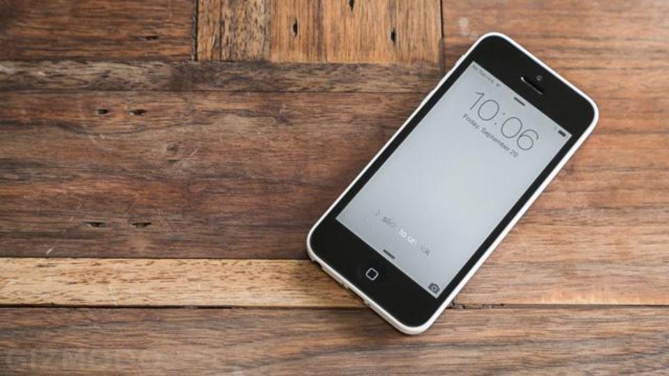 iPhone 5c第一印象は永久ケース入りiPhone 5