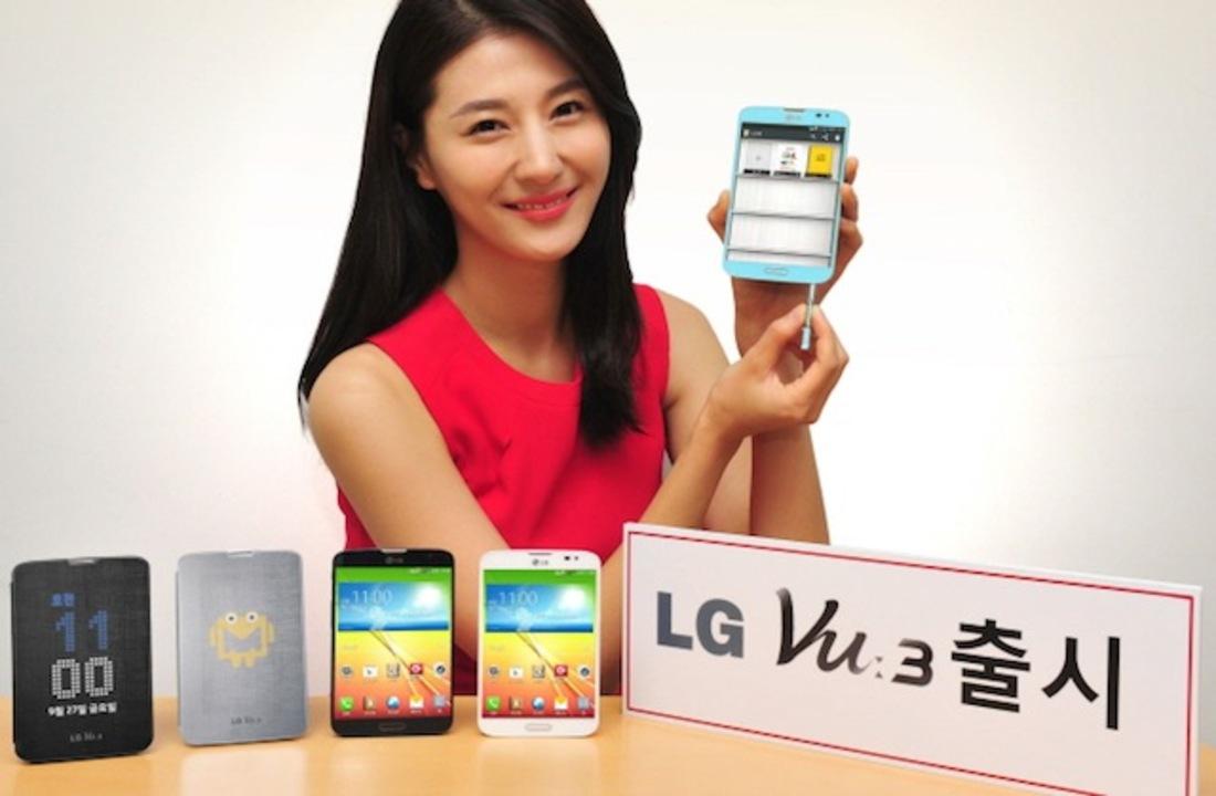LG、アス比4:3ディスプレイを搭載した5.2インチスマホ「LG Vu 3」を発表(ギャラリーあり)