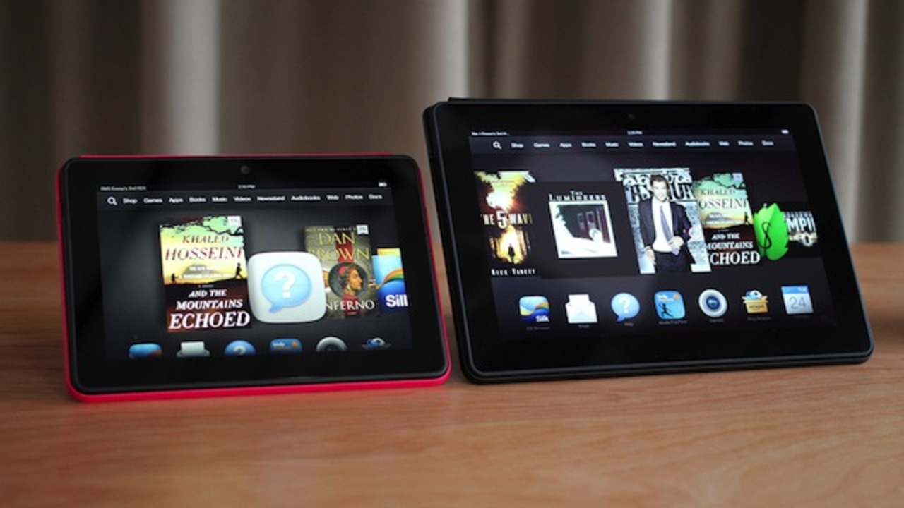 アマゾン、超スペックのKindle Fire HDX 7/Kindle Fire HDX 8.9を発表