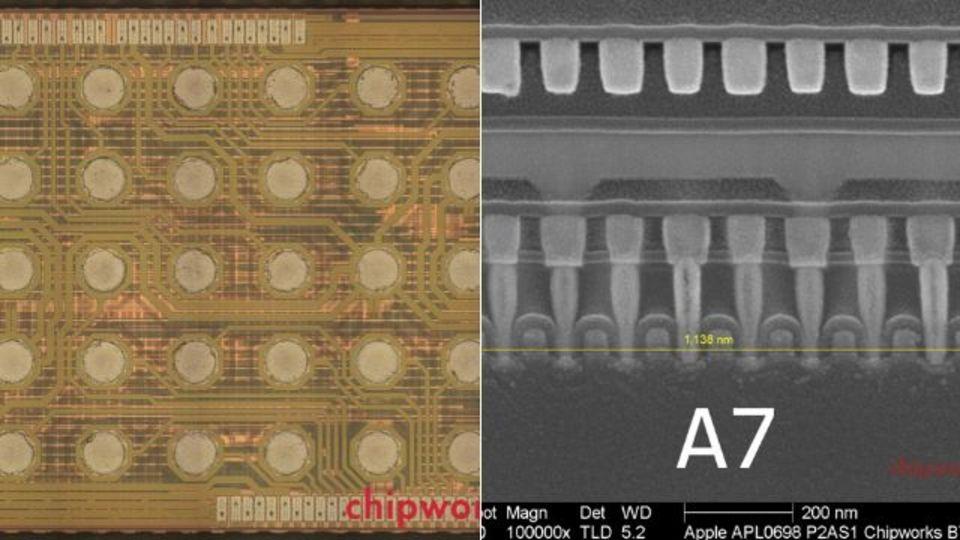 iPhone 5sのA7チップはサムスン製。iFixitの分解で発覚