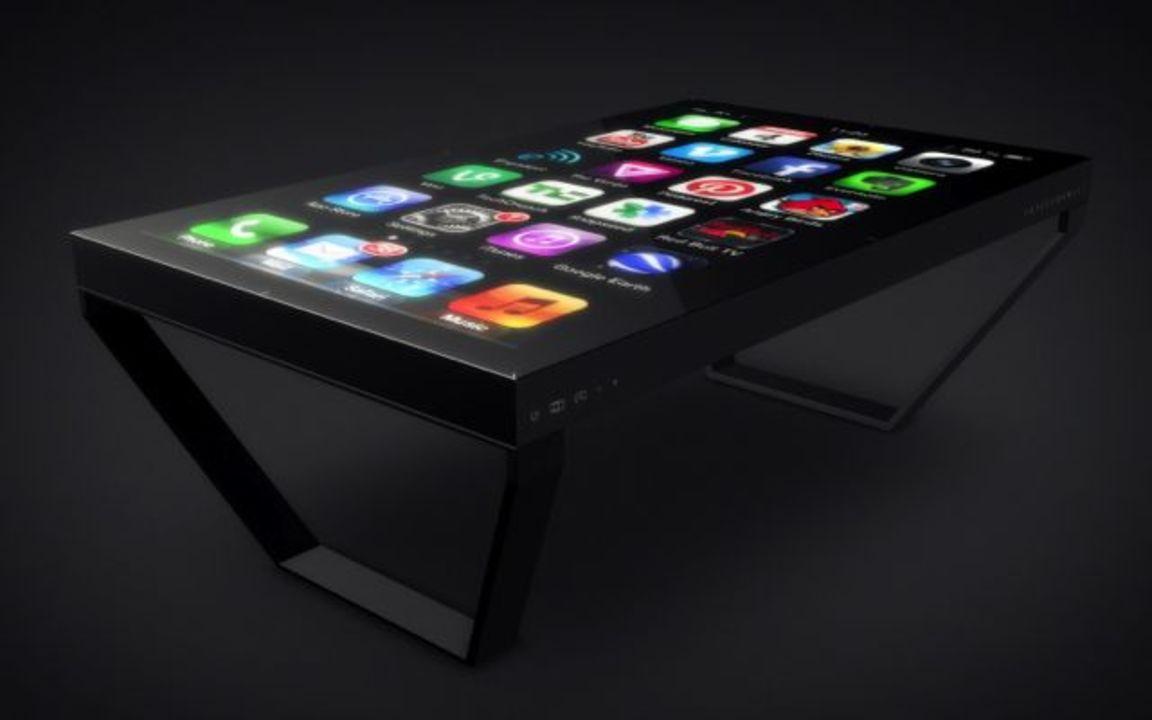 iPhoneがテーブルになった! 60インチのマルチタッチデバイス「TableConnect」