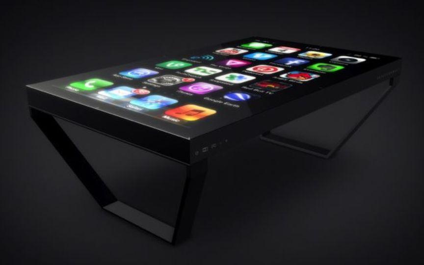 Iphoneがテーブルになった! 60インチのマルチタッチデバイス「tableconnect」 ギズモード・ジャパン