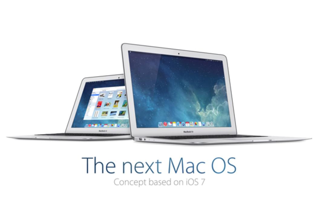 iOS 7をベースにしたOS Xコンセプトがかっこいい!