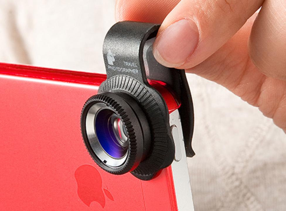 ソニーのアレとは違うけど、クリップでくっつけられるiPhone 5対応レンズセット