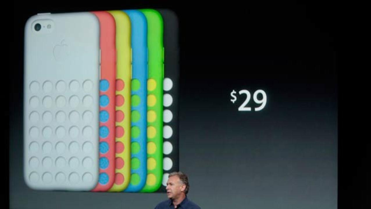 iPhone 5cの公式ケースってさ、なんかチーズけずるやつみたいよね