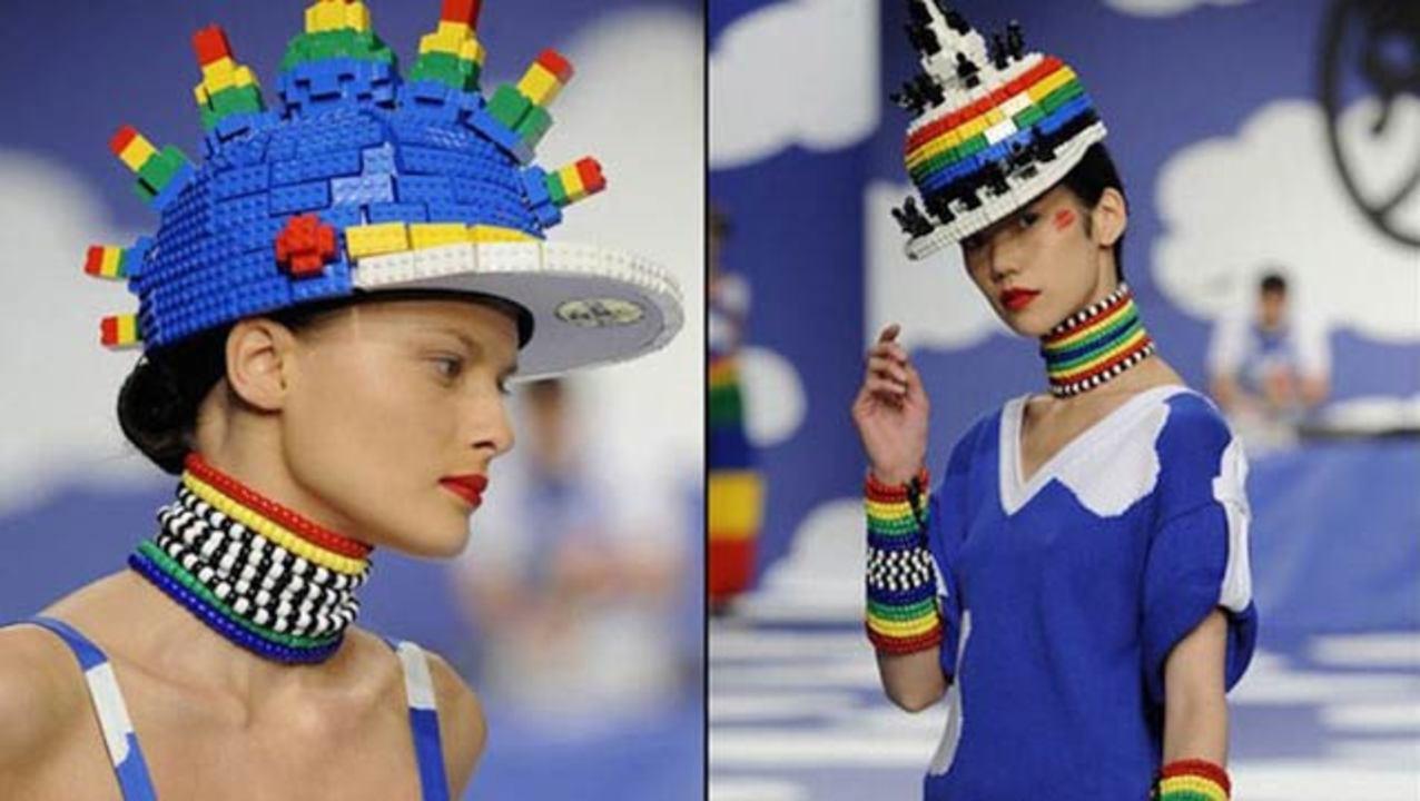 レゴはファションを刺激する、レゴモチーフのシャネルのバッグ(他レゴファッションギャラリーあり)