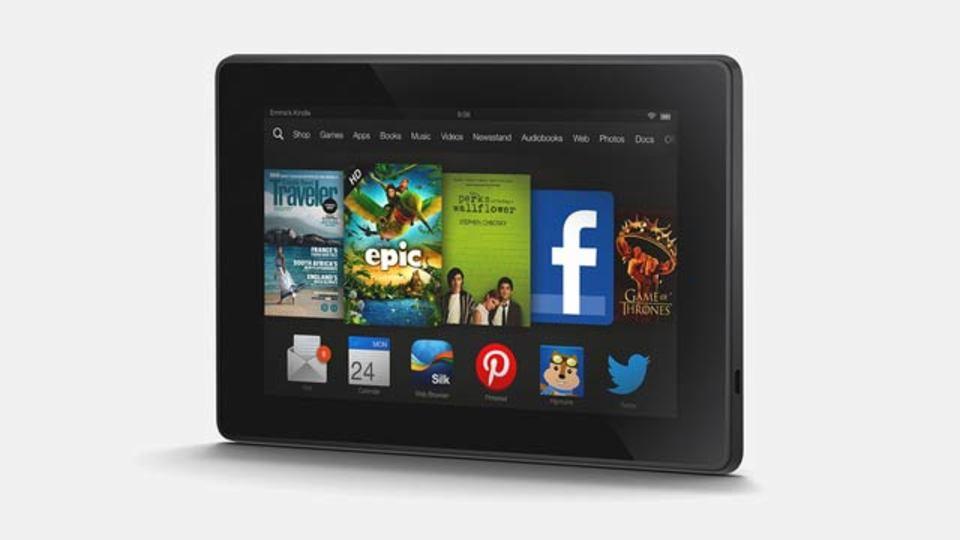 Kindle Fire HD、昨年モデルの中身そのままにデザイン新たに140ドルで登場