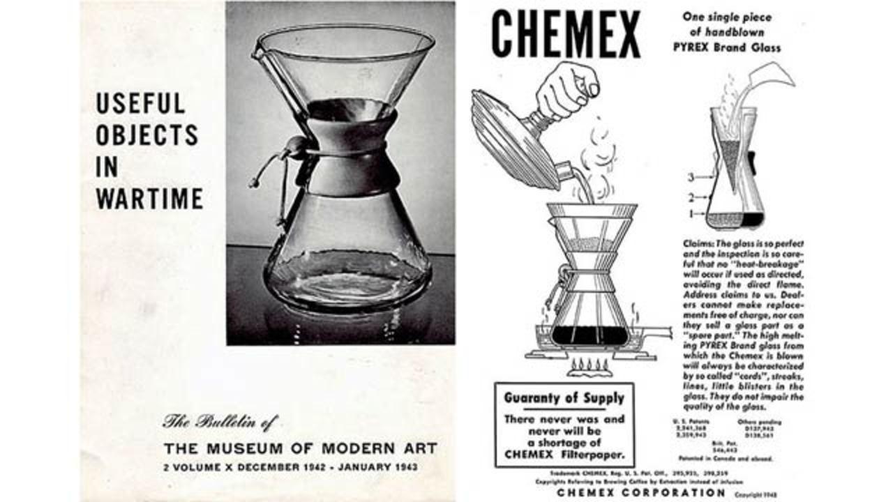 科学者が作り出したコーヒーメーカー、ケメックスが今も愛される理由とは