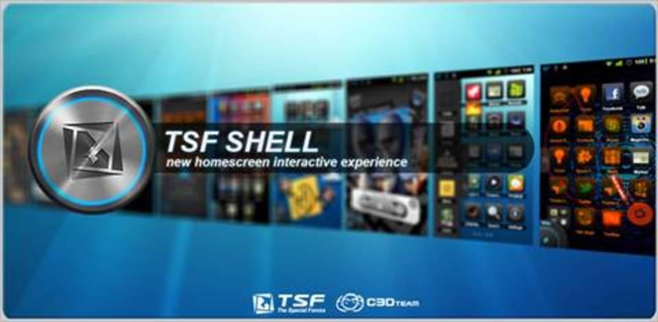 サクサク動作とゴージャスダイナミックなデザインのAndroidホームアプリ「TSF Shell」
