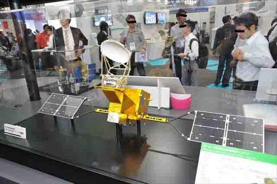 【 #CEATEC 】人工衛星の社内一貫生産を目指すNEC