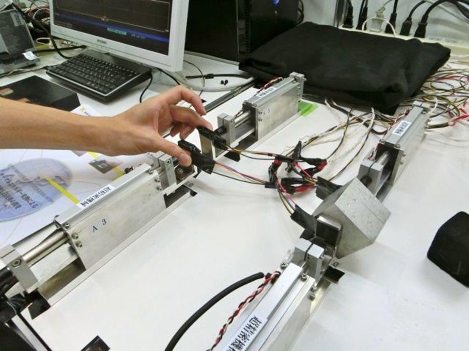 【 #CEATEC 】ぬくもりを遠くまで伝える! 慶應義塾大学の熱感覚伝送技術