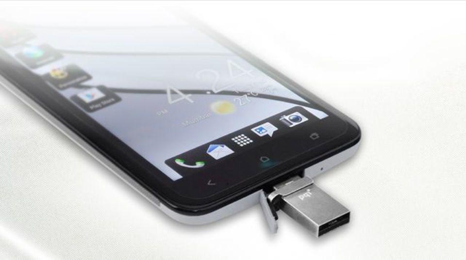 スマフォやタブレットに直接挿して容量を増やせるUSBメモリー