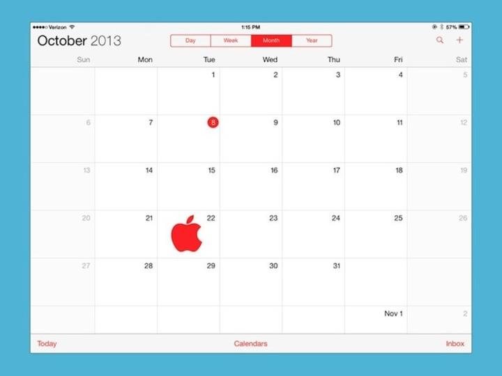 アップルの新型iPad発表イベントは10月22日開催?